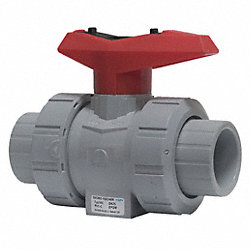 Ball Valve, 3 In, Socket, EPDM, CPVC