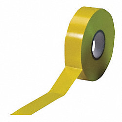 Electrical Tape, 1/2 In x 66 ft, 7 mil, PK6