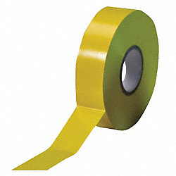 Electrical Tape, 3/4 x 66 ft, 7 mil, Yellow