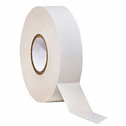 Electrical Tape, 3/4 x 66 ft, 7 mil, White