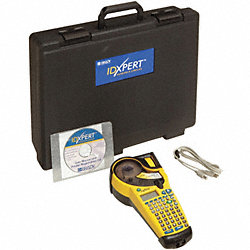 Portable Label Printer, Yellow