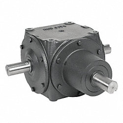Gear Drive, Bevel, 1750 rpm, 56 HP, CI