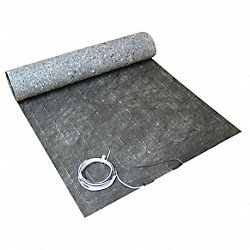 Electric Floor Heating Pad, 20 ft. L