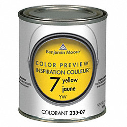 Color Preview Colorant, 1 qt, Yellow