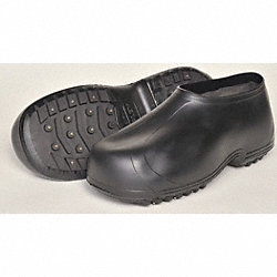Ice Traction Overshoes, Rubber, 6.5-8, PR
