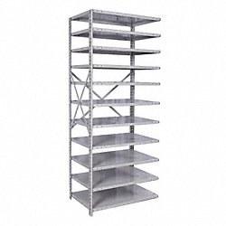 Add On Shelving, 87InH, 36InW, 18InD