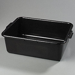 Bus Box, 20 x 15 x 7 Black, PK 240