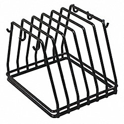 Board and Brush Rack, Black