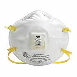 Disposable Respirator, N95, Standard, PK 10