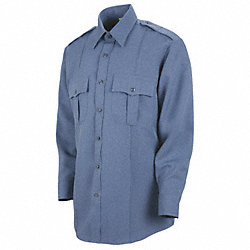 Sentry Plus Shirt, Blue, Neck 17 In.