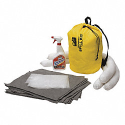 Spill Kit, Pull String Bag, 5.6 gal, Unvrsl
