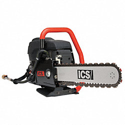 Concrete Chain Saw, 16 In. Bar, 6.4 HP