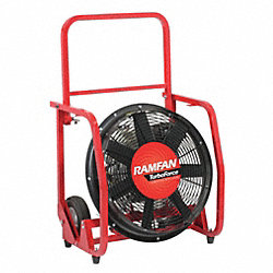 Confined Space Blower, Gas, 4.6 HP, 21 In.