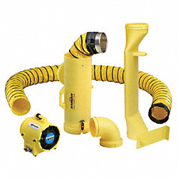 Manhole Entry System, 8 In, 1/3 HP
