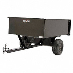 Dump Cart, 17 cu. ft., 1200 lb., Pneumatic