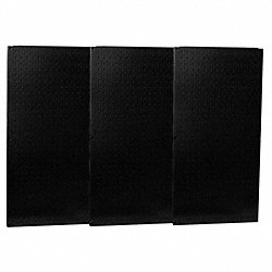 Pegboard Set, Steel, 32x48 In., Black