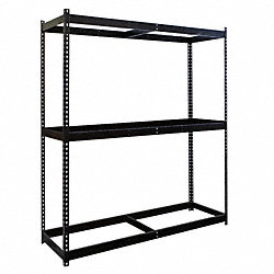 Boltless Shelving Starter, 60x24, 3 Shelf