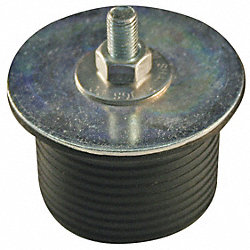Mech Exp Plug, Hex-Nut, 1-1/2In