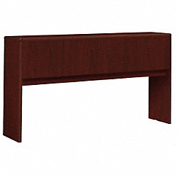 Stack-on Desk Storage, Mahogany