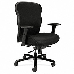 Executive / Highback Chair, 450 lb., Black