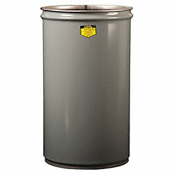 Open Head Drum, 15 Gal, Grey