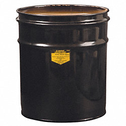 Open Head Drum, 4-1/2 Gal, Black