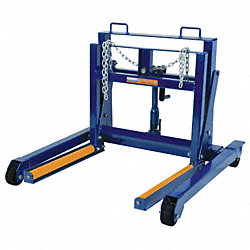 Hyd Wheel Dolly, L 38 3/4 In, W 39 1/2 In.