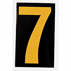 Reflective Numbers And Letters, 7, PK 25
