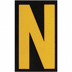 Reflective Numbers And Letters, N, PK 25