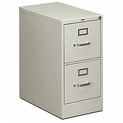 Vertical File, 15 In.W, Light Gray