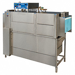 Conveyor Dishwasher, w/Booster, W66 In, L-R