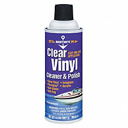 Leather and Vinyl Cleaners, Yellow