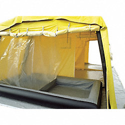 Tent, Decontamination, 25.6x16.3x9.3 Ft.