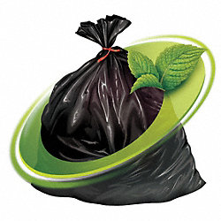 Rodent Repellent Trash Bag, 1.3 mil, PK100