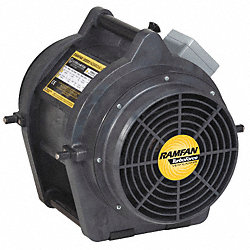 Conf.Sp. Fan, Ax. Ex-Prf, 8 In, 1/3 HP