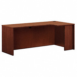 Credenza, 36 In.D, Medium Cherry