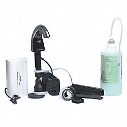 Liquid Soap Disp. Kit, 800mL, Chrome/Blk