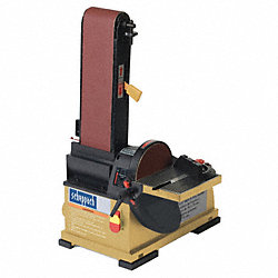 Belt & Disc Sander, 1/3 HP, 120 V