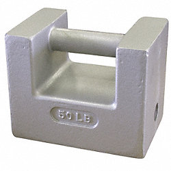 Grip Handle Weight, 50 lb., Painted