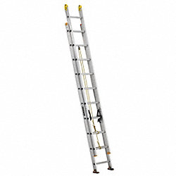 Ext Ladder, Aluminum, 20 ft., I