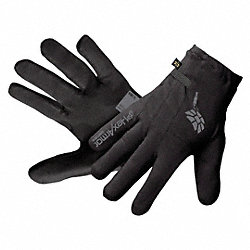 Cut Resistant Gloves, Black, M, PR