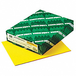 Multi Paper, 8-1/2 x 11 In, Yellow, PK 500