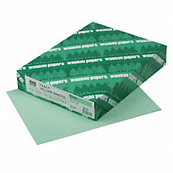 Cover Stock, 8-1/2 x 11 In, Green, PK 250
