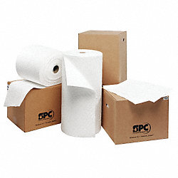 Absorbent Pads, White, 15 In. W, 19 In. L