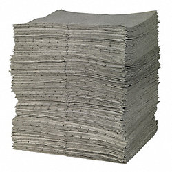 Absorbent Pads, 15 In. W, 17 In. L, PK 200
