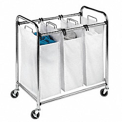 Laundry Sorter, 3-Compartment