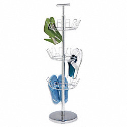 Shoe Tree Rack, 18 Pair