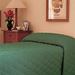 Bedspread, Twin, Forest Green