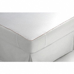 Mattress Pad, Size Full Long, PK 12