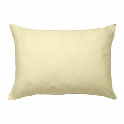 Pillow, Standard, Cream, PK 12